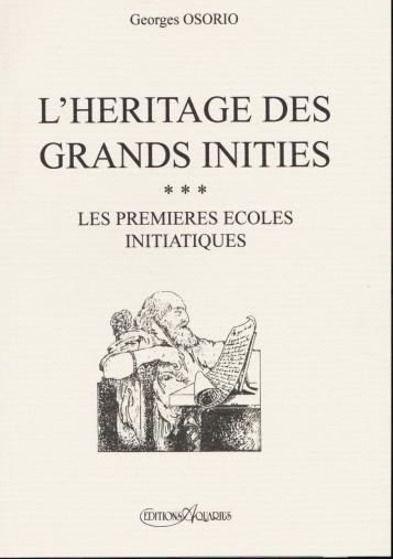 L'HERITAGE DES GRANDS INITIES