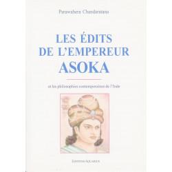LES EDITS DE L'EMPEREUR ASOKA